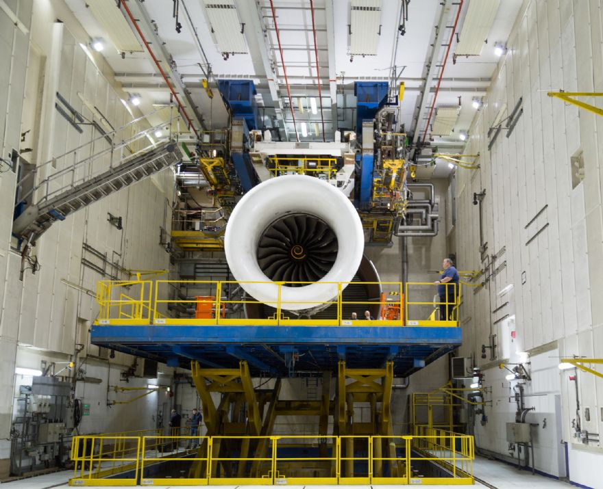 Rolls-Royce fires-up world's largest testbed