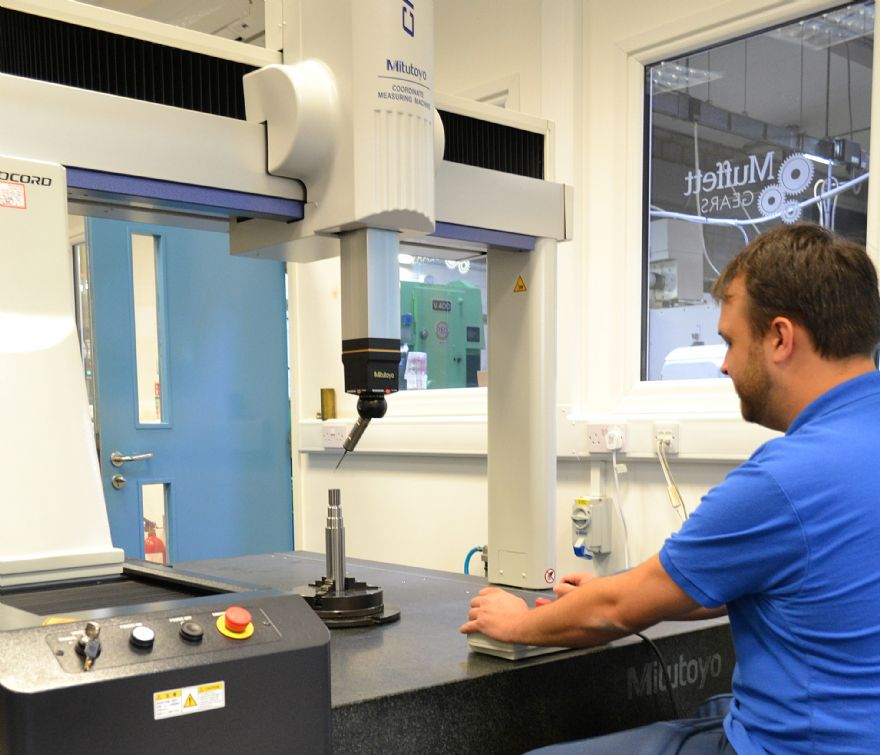 Muffett 'gears-up' for precision manufacturing
