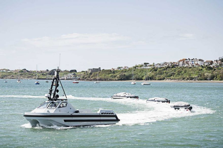 Autonomous minesweepers contract secures UK jobs