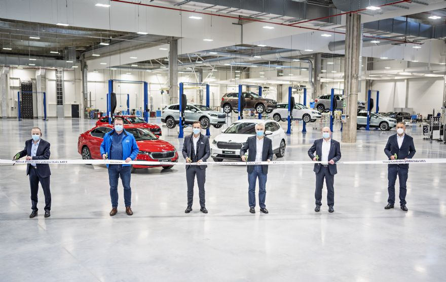 Škoda opens 'state of the art' central pilot hall
