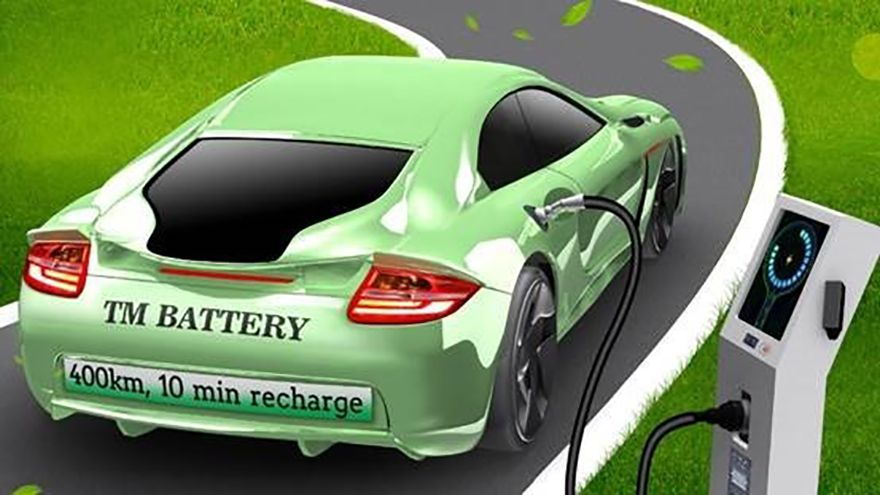 EV battery developed to overcome 'range anxiety'