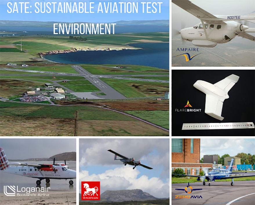 Orkney to be Sustainable Aviation Test Environment