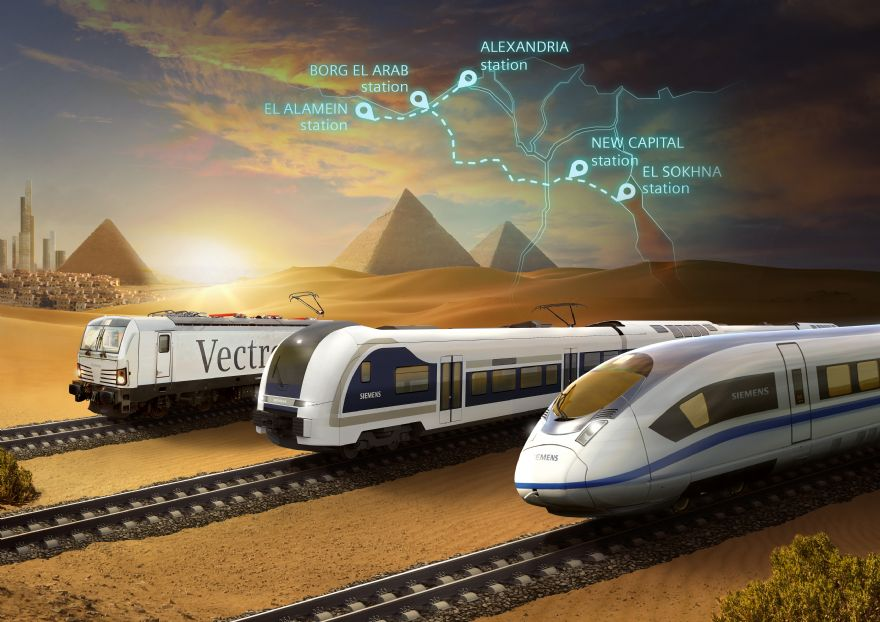 Siemens Mobility to build Egypt's first high-speed rail system