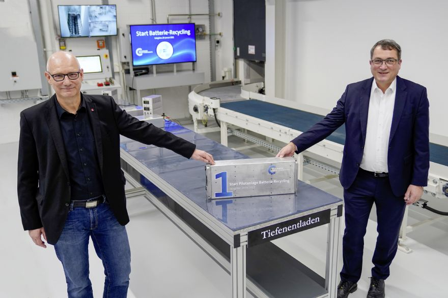 Volkswagen Group Components opens first battery recycling plant