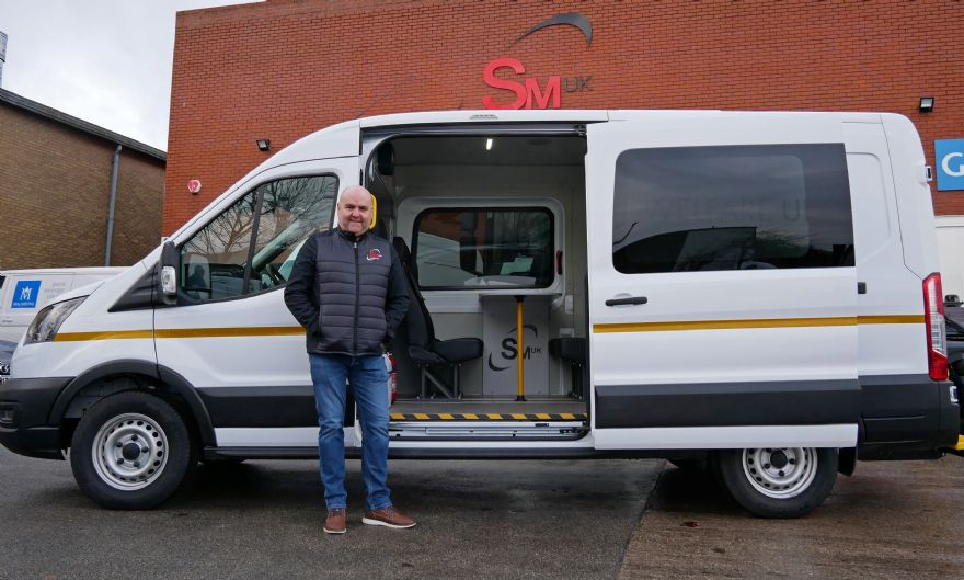 Leeds engineering firm invests £200,000 to create Covid-safe welfare vehicles