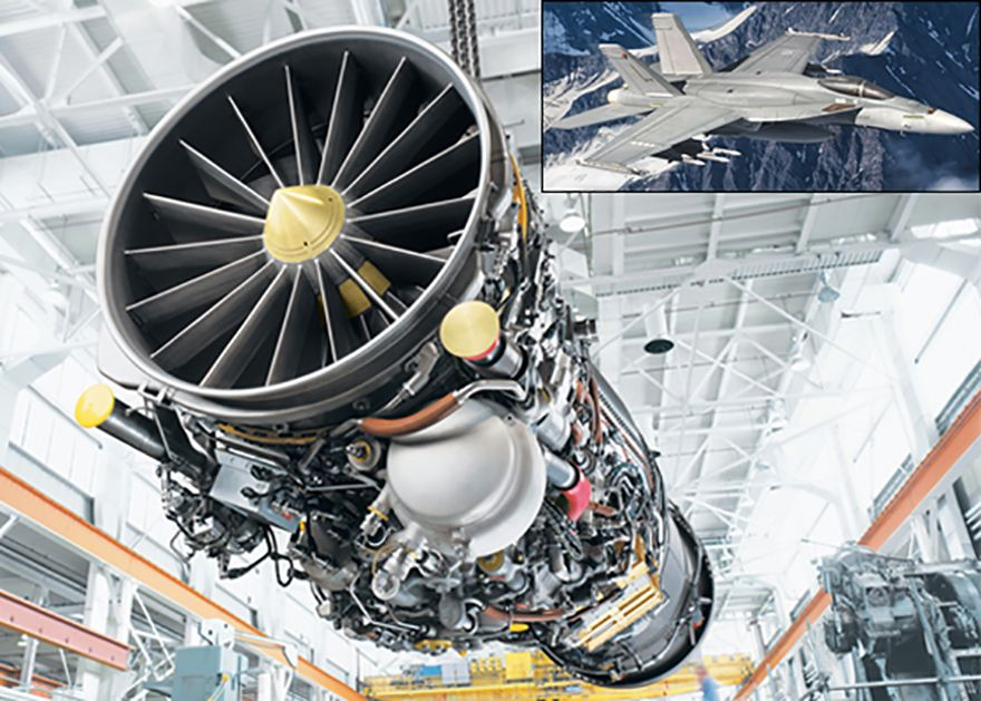Magellan and GE Aviation sign MoU for F414 engine sustainment