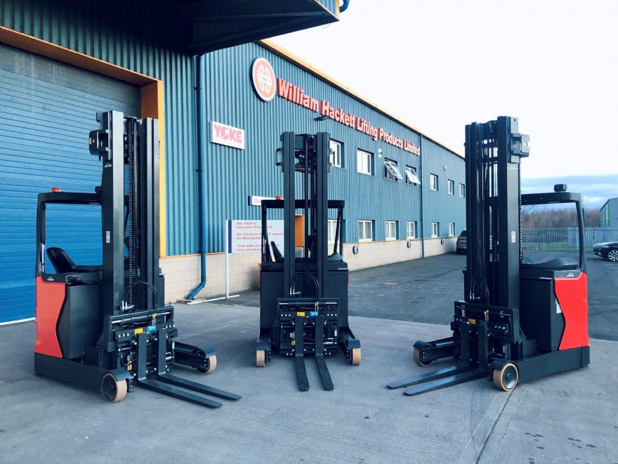 William Hackett Lifting Products invests in new KAUP forklift truck attachments