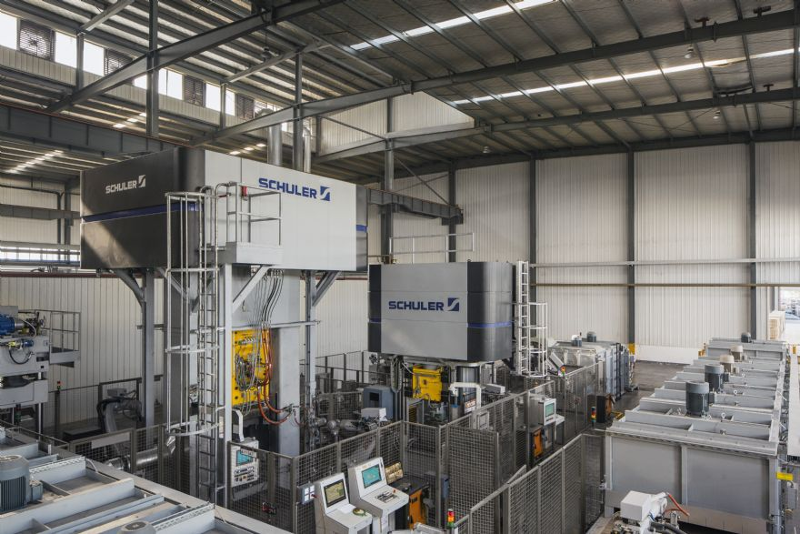 Schuler virtually commissions forging lines for Chinese customer