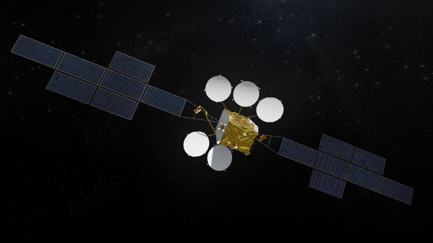 First Airbus Eurostar Neo satellite is born