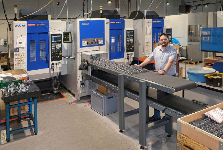 Sub-contractor orders second automated cell for machining prismatic components