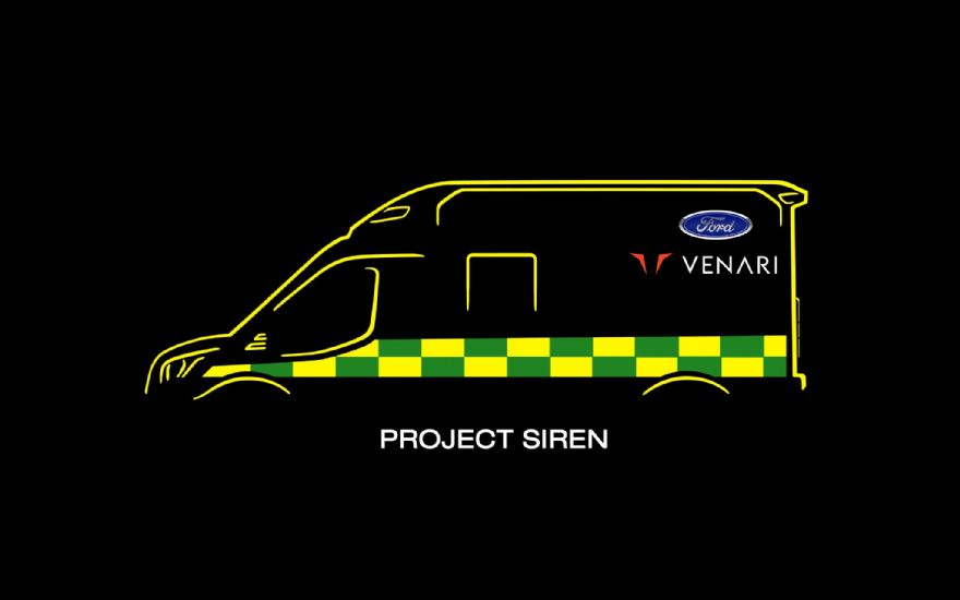 Project Siren unveiled as Ford re-establishes presence in UK ambulance market