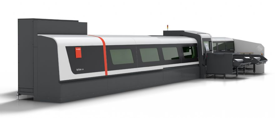 Fibre laser technology for tube processing from Bystronic