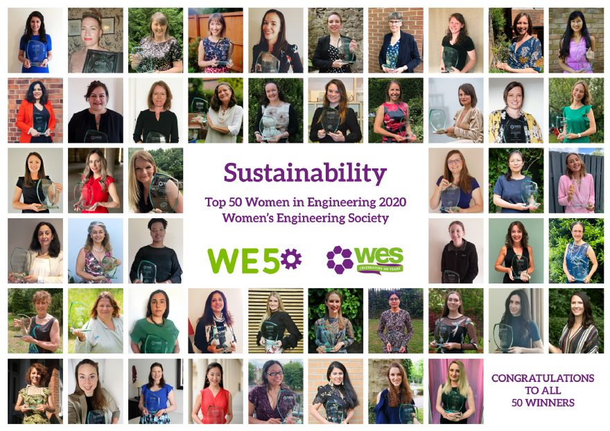 Nominations open for 2021 Top 50 Women in Engineering Awards