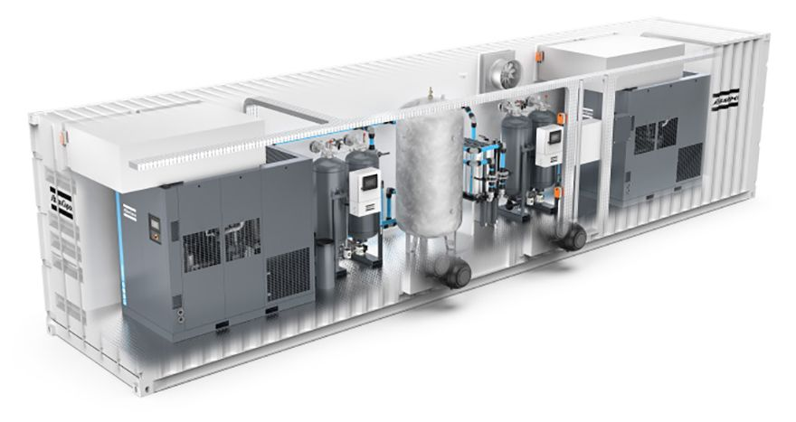 Atlas Copco introduces AIRCUBE containerised compressor rooms