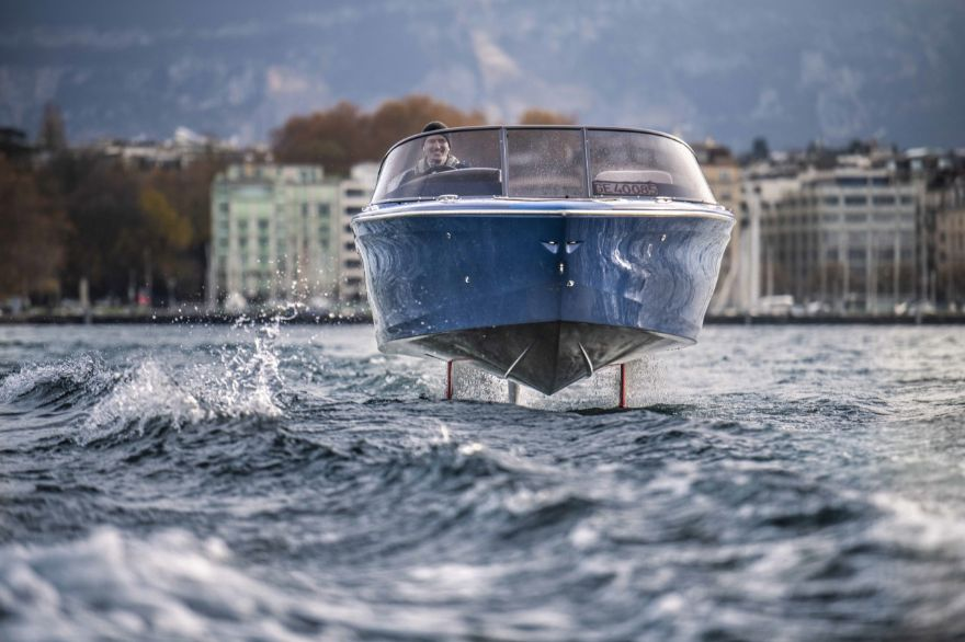 First of a new breed of hydrofoil boats passes rigorous tests