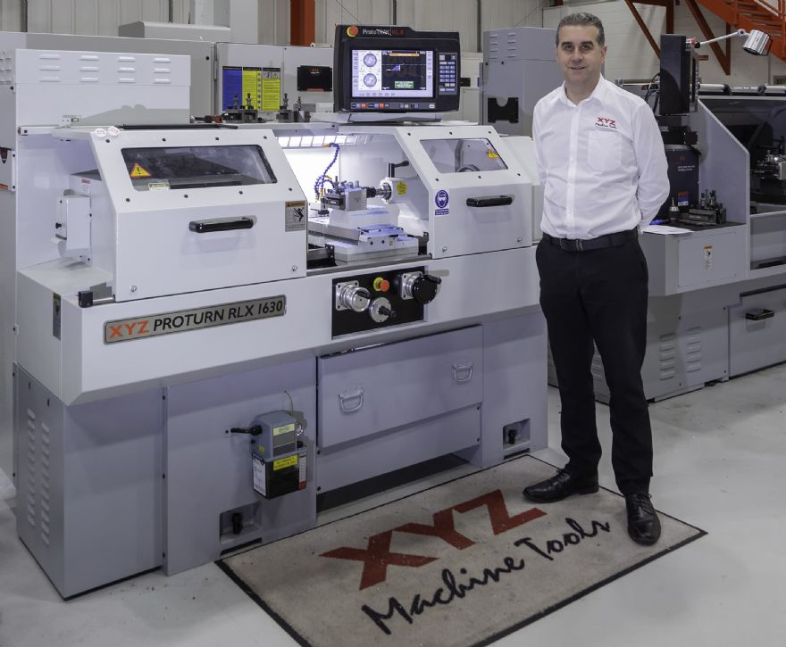 XYZ Machine Tools appoints new commercial manager