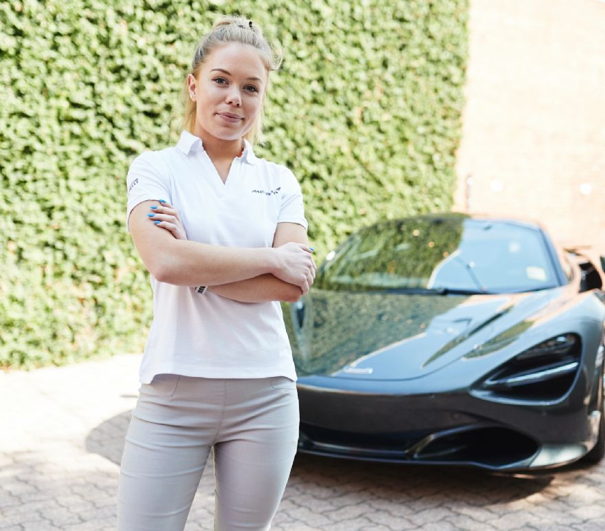 McLaren scientist crowned Young Woman Engineer of the Year