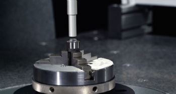 Sub-micron accuracy CMM quadruples inspection throughput