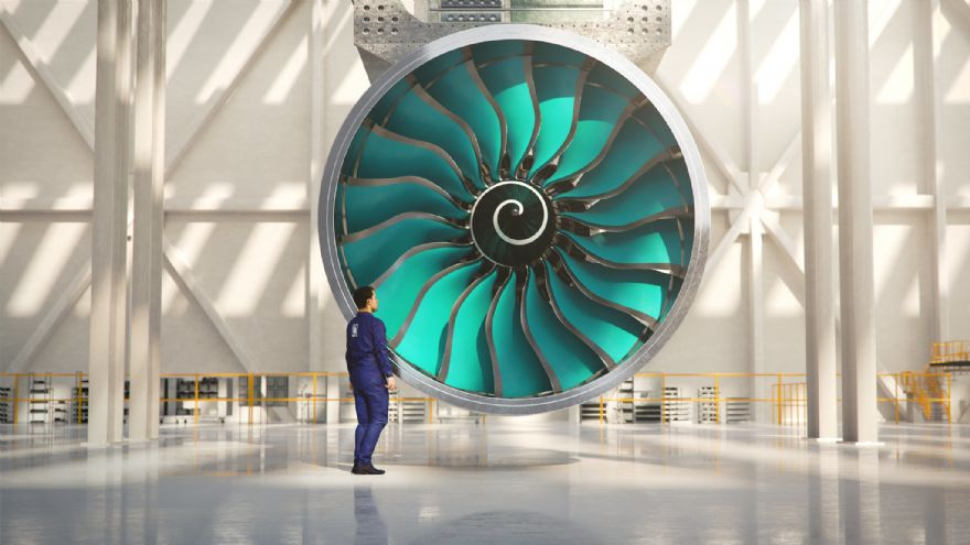 Rolls-Royce starts the build of world's largest aero-engine