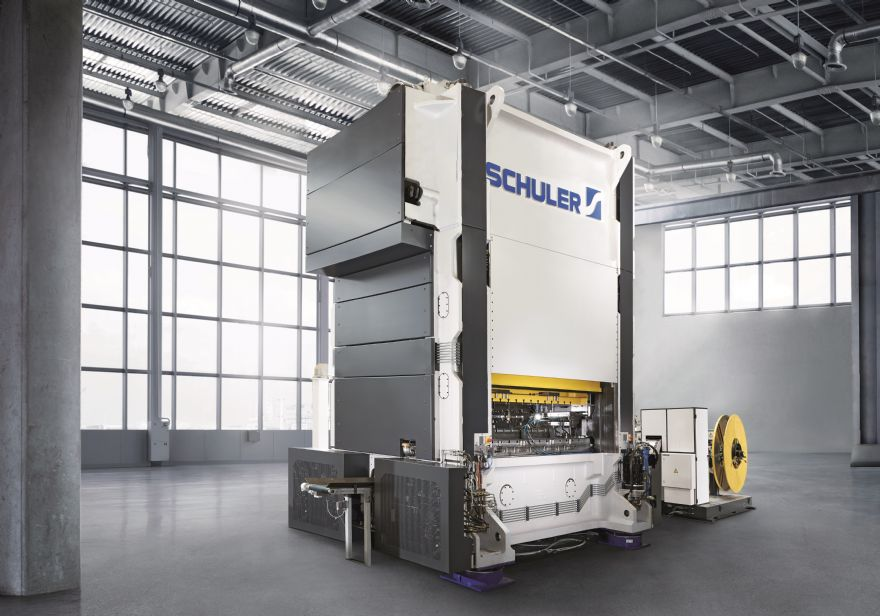 Schuler supplies electric motor lamination press to China