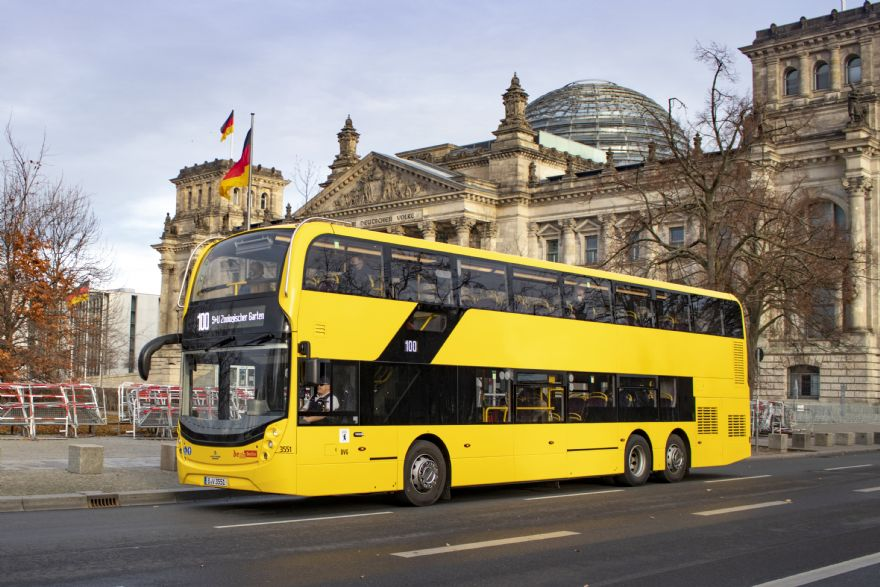 ADL confirms order to build 198 Enviro500 double deck buses for Berlin