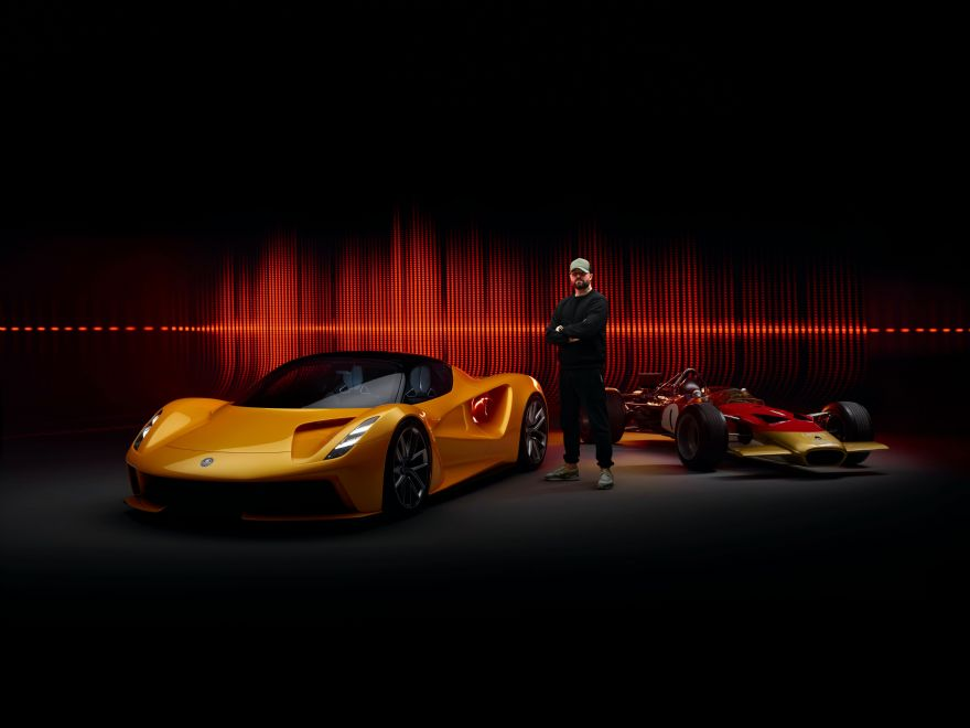 British music producer 'remixes' iconic Lotus engine note for EV hypercar
