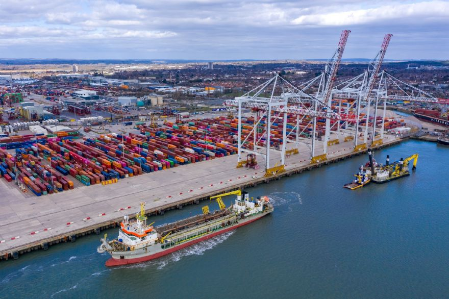 £40 million upgrade planned for container terminal in Southampton