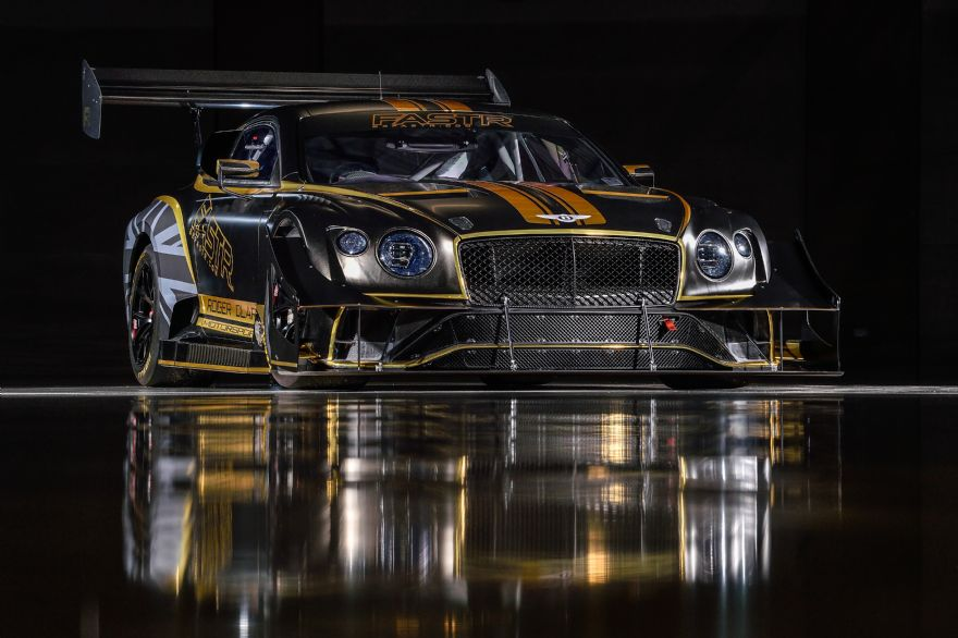 Bentley's 'green' 2021 Pikes Peak racer unveiled