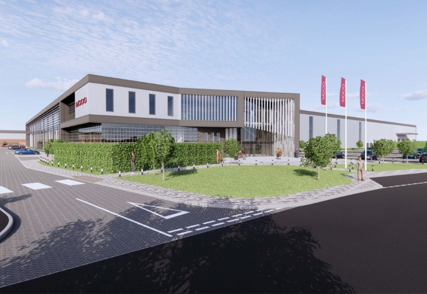 Work begins on new Moog Controls facility in Tewkesbury