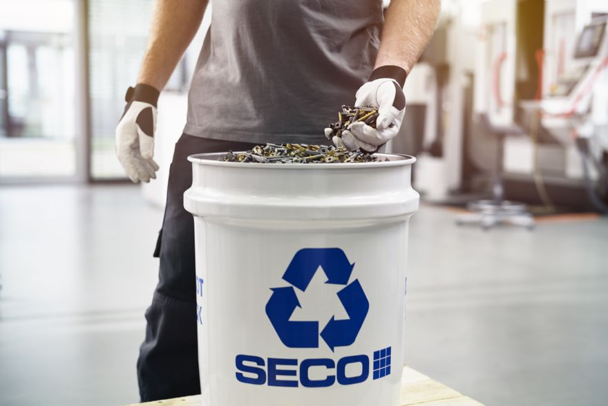 Seco Tools sets ambitious target for circular economy