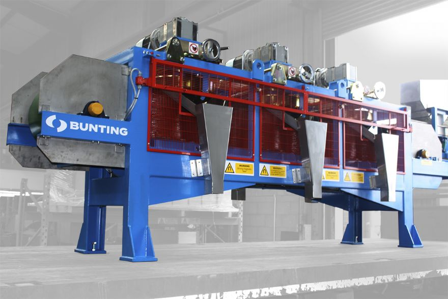 Nigerian mineral processor chooses UK-built magnetic disc separators