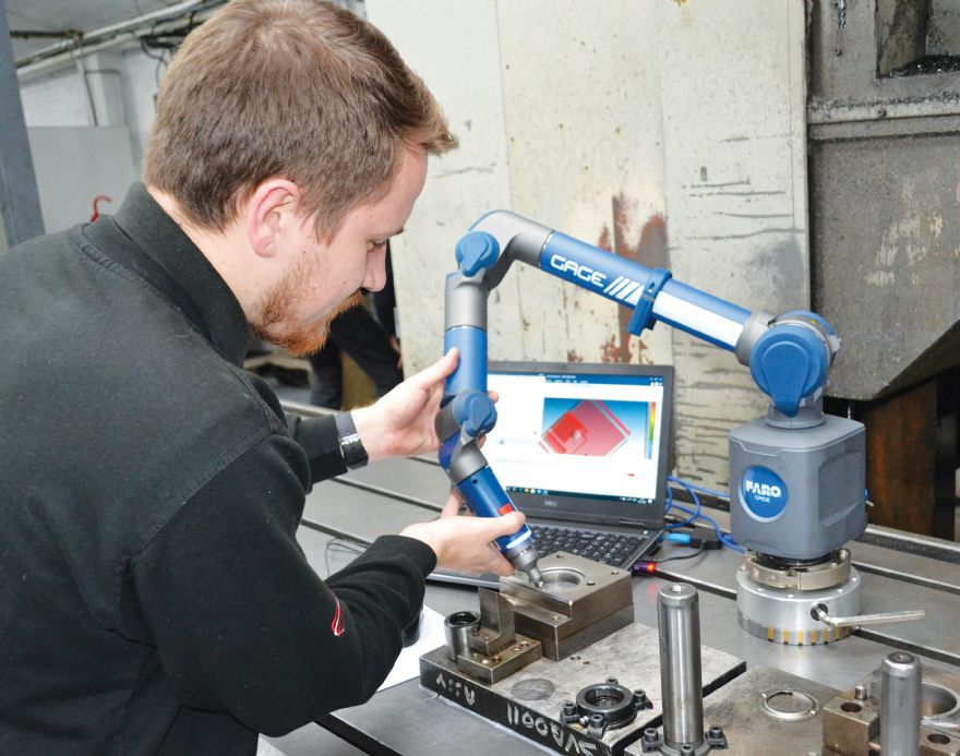 Portable CMMs answers AM Hydraulics' 'call to arms'