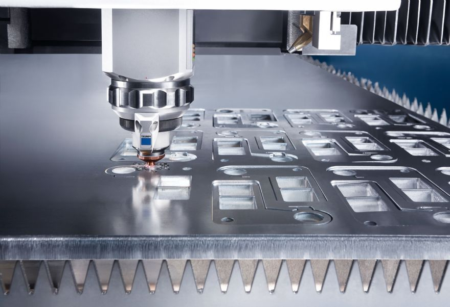 Trumpf TruLaser Series 5000 features intelligent assistance systems