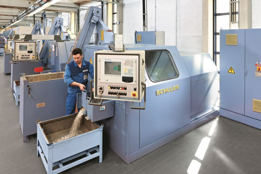 Schuler sells 1,000th high-performance minting press