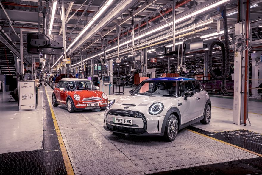 The modern Mini celebrates its 20th birthday