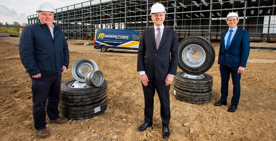 Modern Tyres to invest £5.6 million and create 23 jobs in Northern Ireland