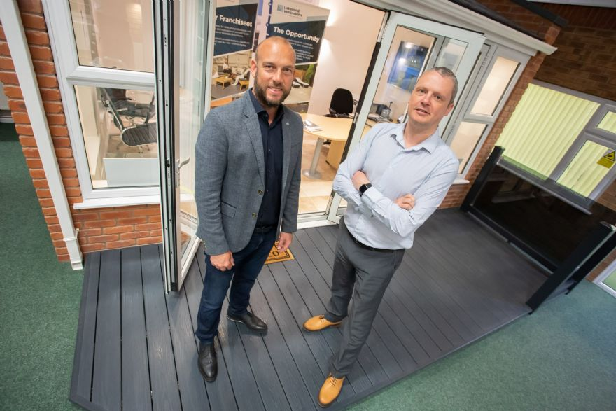 Decking specialist celebrates £4 million sales milestone
