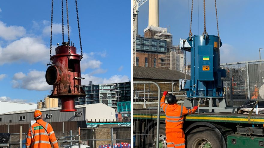 Keeping London's water supply running