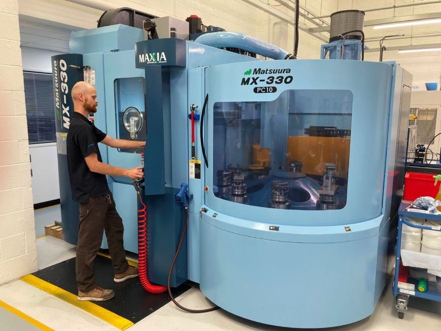 Sub-contractor's investment in Matsuura technology pays off