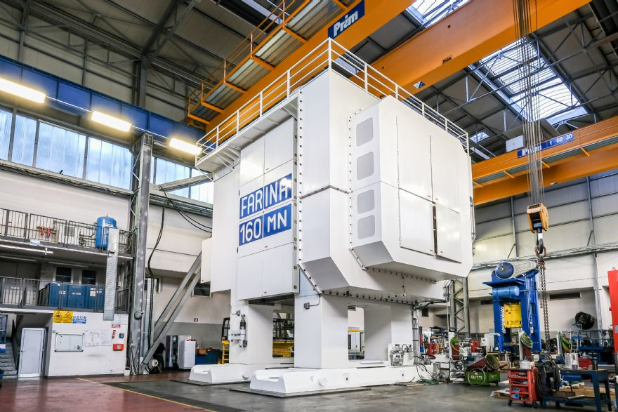 Schuler and Farina unveil 16,000-tonne mechanical forging line