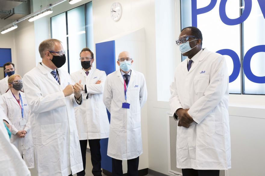 Johnson Matthey opens Battery Technology Centre in Oxford